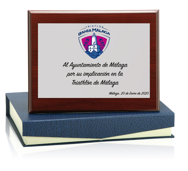 Placa homenaje